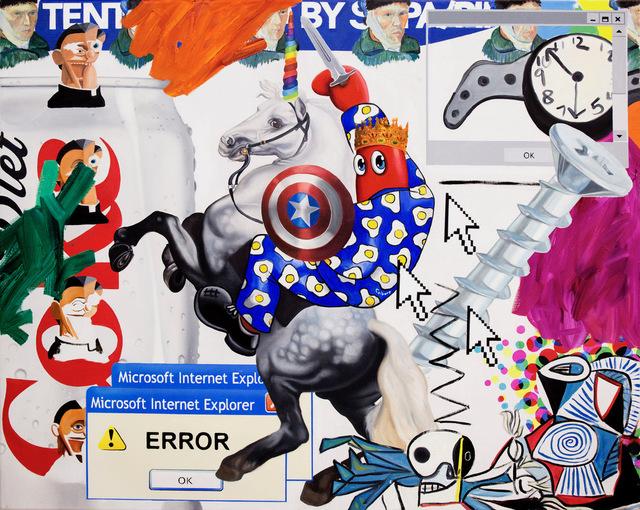 Philip Colbert, 'Hunt Study', 2018, Unit London