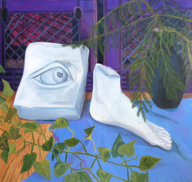 , 'Foot & Eye,' 2017, Hashimoto Contemporary