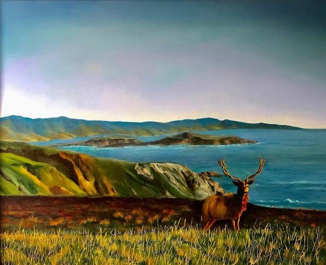 , 'Tule Elk at Pt. Reyes,' 2016, The Galleries at Salmagundi