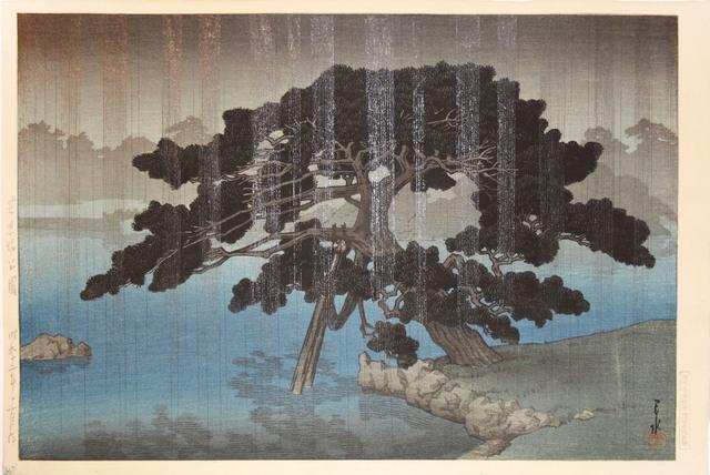 , 'Onshi Park in Shiba,' 1937, Ronin Gallery