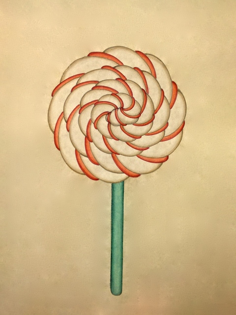 , 'Lollipop_White,' 2013, Artflow