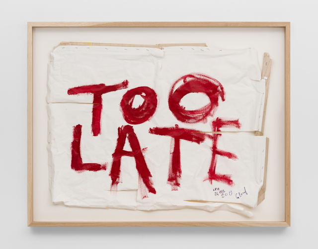 Thierry Geoffroy /COLONEL, 'TOO LATE, 24th February, 2019', 2019, SABSAY
