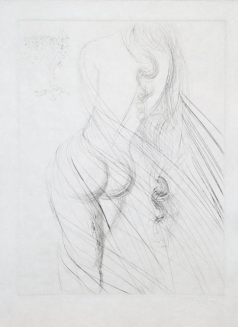 Salvador Dalí, 'Les Amours de Cassandre', 1968, Print, Drypoint on Japon paper, Samhart Gallery