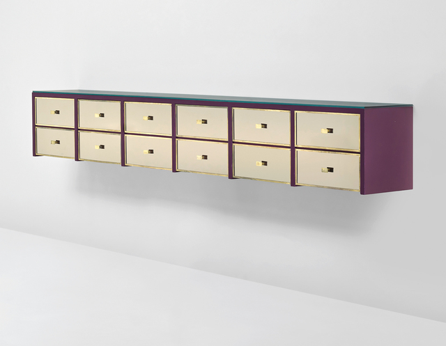 Gio Ponti, 'Wall-mounted chest of drawers', 1957, Phillips