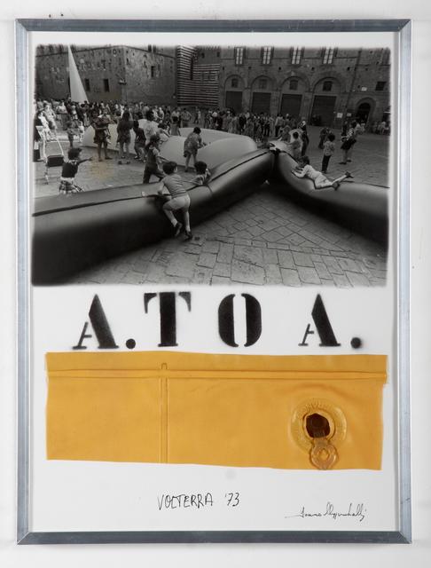 Franco Mazzucchelli, 'A. to A. (Priori Square, Volterra, 1973)', Late 1970s, Hakgojae Gallery