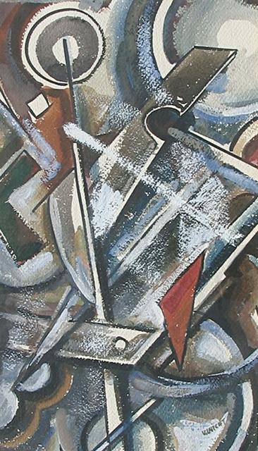 John Von Wicht, 'Conflict', 1941, Caldwell Gallery Hudson