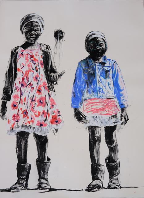 , 'Di Papadi (Games),' 2017, Gallery of African Art (GAFRA)
