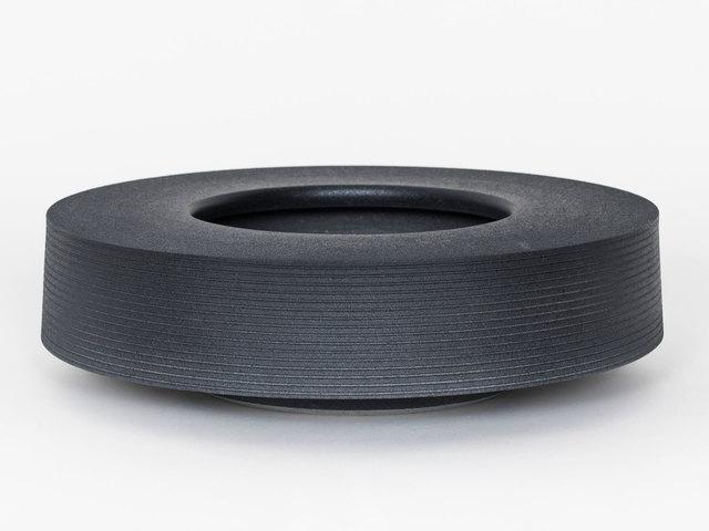 Ian McDonald, 'Soft Stoneware Low Form (Soft Black)', 2019, Patrick Parrish Gallery