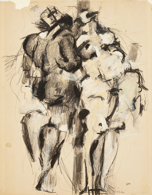 , 'Male and Female,' 1952, Hollis Taggart Galleries