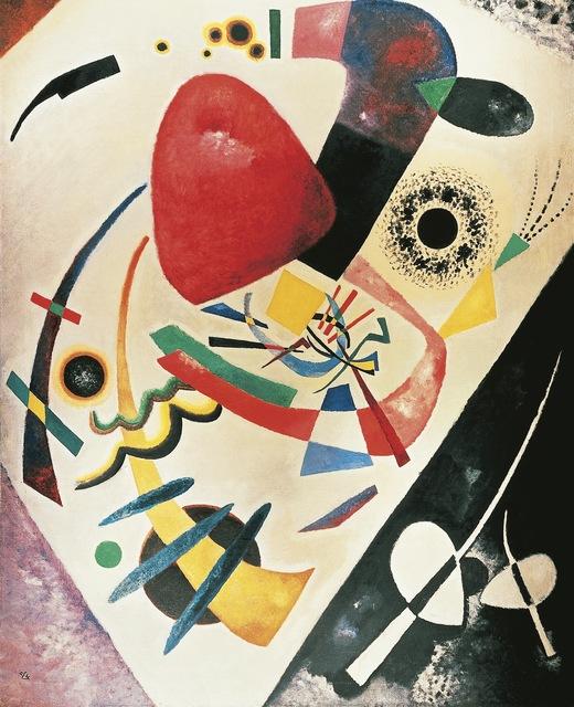 Wassily Kandinsky, 'Red Spot', 1921, Painting, Art Resource