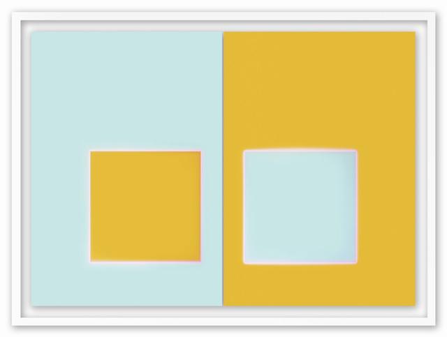 , 'Orange Aqua,' 2009, HackelBury Fine Art