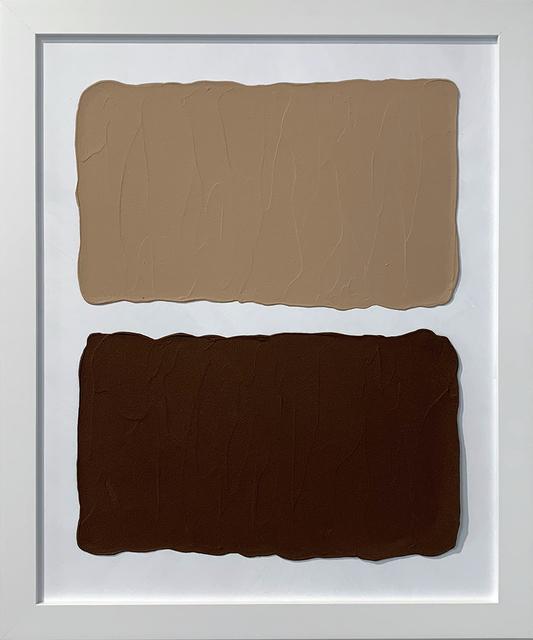 Laura Hapka, 'Pecan Hotcakes', 2020, Mixed Media, Acrylic on mat board, Themes+Projects
