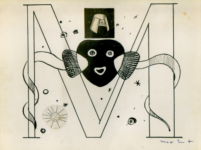 , 'Initial M - Illustration for Benjamin Péret, La Brebis Galante, Paris, 1949,' 1949, The Mayor Gallery