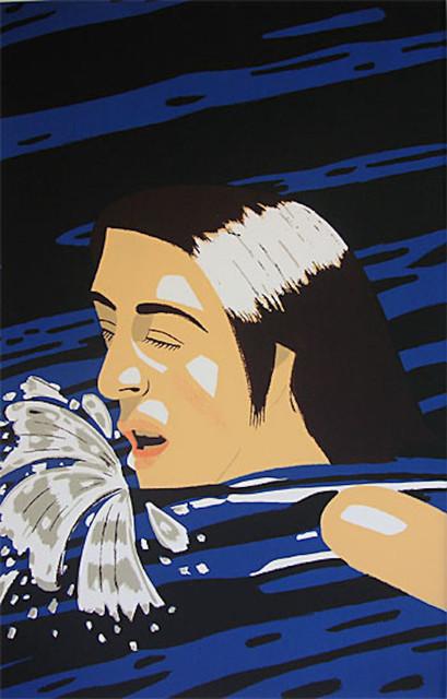 Alex Katz, 'Olympic Swimmer', 1976, Kings Wood Art