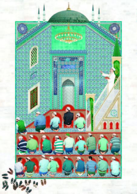 , 'Prayer,' 2015, C.A.M Galeri