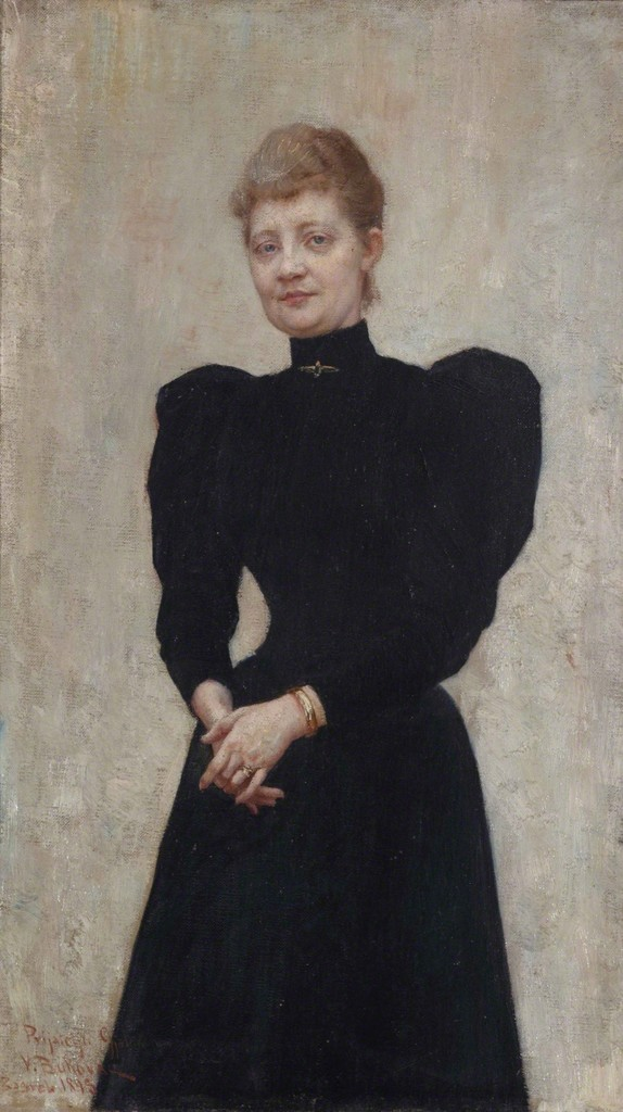Vlaho Bukovac, Portrait Vilma Babić Gjalski, 1895, © Private Collection Zagreb