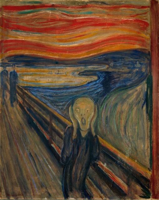 Edvard Munch, 'The Scream,' 1893, ARS/Art Resource