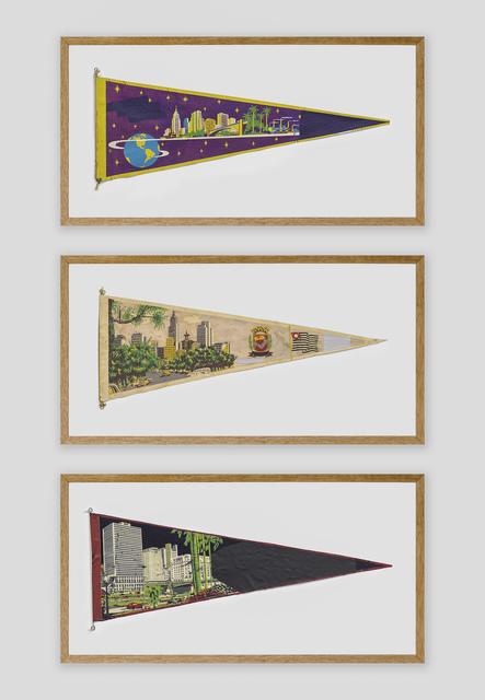 Bruno Faria, 'Landscape Memories / Sao Paulo', 2020, Painting, Engraving and painting, Triptych, Galeria Marília Razuk