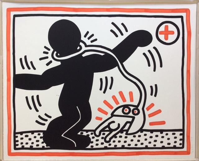 Keith Haring, 'Untitled 2 (Apartheid suite)', 1985, Joseph Fine Art LONDON