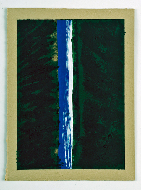 , 'Blue Green White,' 2015, InLiquid