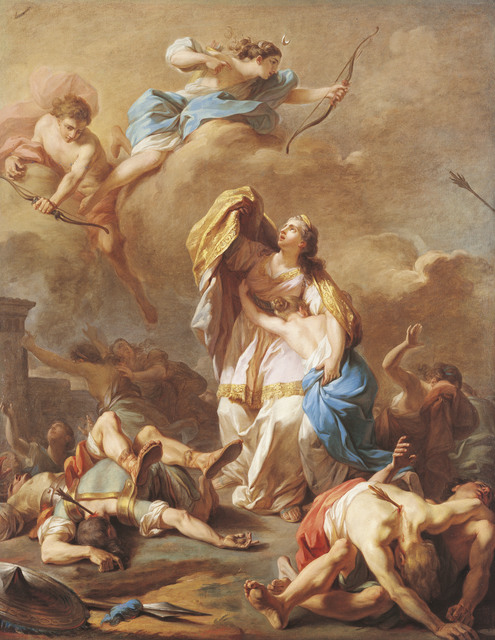 , 'Apollo and Diana Killing the Children of Niobe,' 1772, American Federation of Arts