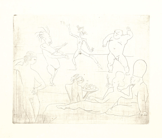 Pablo Picasso, 'La Danse, from La suite des Saltimbanques', 1905, Christie's