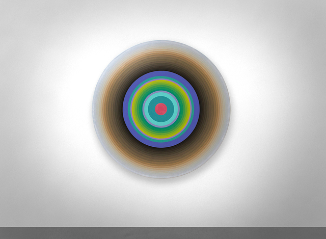 , 'BLUELIGHTSEVEN,' 2015, KM Fine Arts