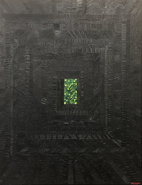 , 'Back vegetal,' 2016, Galerie Artefact