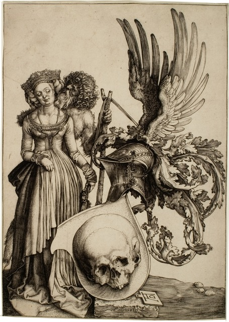 , 'Coat of Arms with Skull,' 1503, R. S. Johnson Fine Art