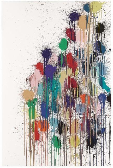 , 'Colour Splat Slide (white),' 2017, Alan Cristea Gallery