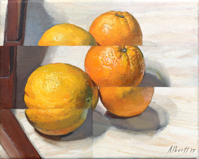 , 'Two oranges,' 2017, Charles Nodrum Gallery