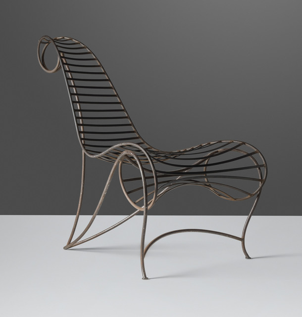 André Dubreuil, 'An early 'Spine' chair', circa 1986, Design/Decorative Art, Welded steel, Christie's