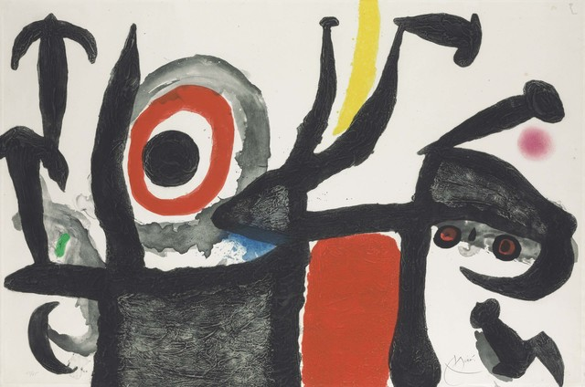 Joan Miró, 'Manoletina', Christie's