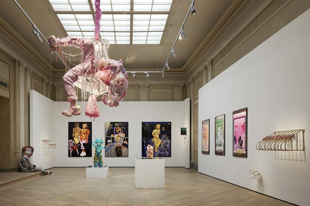 Works by Raúl de Nieves, Jonathan Lyndon Chase, Cajsa von Zeipel, Juliana Huxtable and Stewart Uoo.