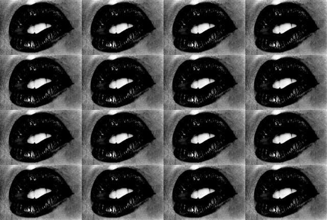 , 'Untitled (Lips 16 Times),' 2001, Hamiltons Gallery