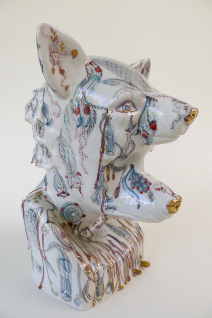 , 'Crying with my Dogs,' 2017, Cynthia Corbett Gallery