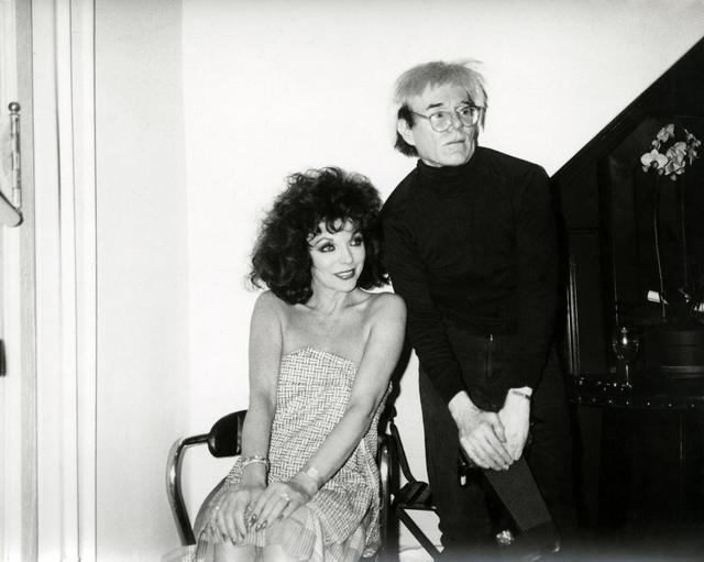 Andy Warhol, 'Joan Collins & Andy Warhol', 1985, The Future Perfect