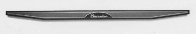 , 'Black-indigo and blue-gray overturned trapezium bar with silver signature,' 1970-1975, Repetto Gallery
