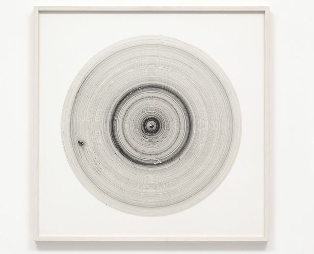 , 'Tide Drawing: Isabelle,' 2006, Galerie Christian Lethert