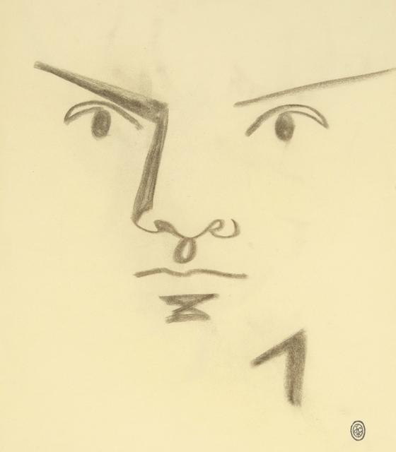 , 'Visage d'Homme de Face.,' 1958, William Weston Gallery Ltd.