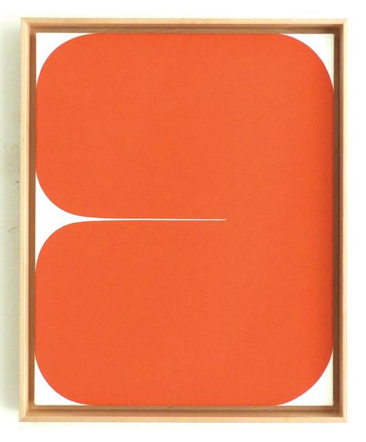 Sara Genn, 'New Alphabet (Poppy)', 2020, Painting, Acrylic on canvas, Winston Wächter Fine Art