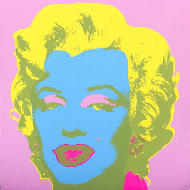 Andy Warhol, 'Marilyn - Sunday B. Morning - After Warhol', 2000's, Print, Colored serigraphy on paper, Bertolami Fine Arts
