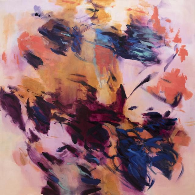 , 'Untitled (ochre-magenta),' 2017, Cadogan Contemporary
