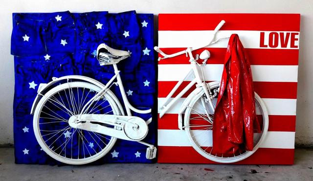 , 'I Love America,' 2017, Galleria Ca' d'Oro