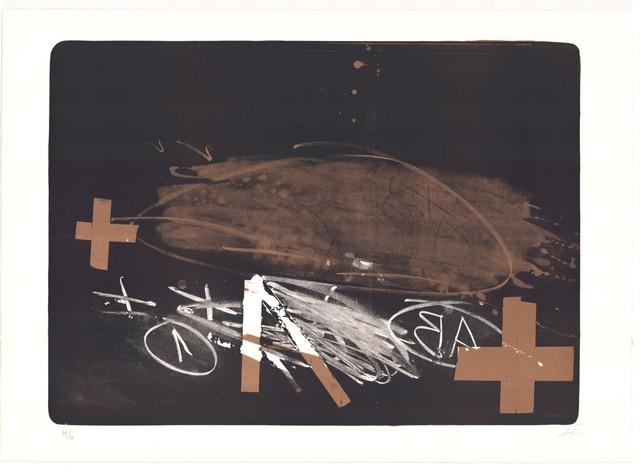 Antoni Tàpies, 'A efface', 1970-1980, ARTEDIO