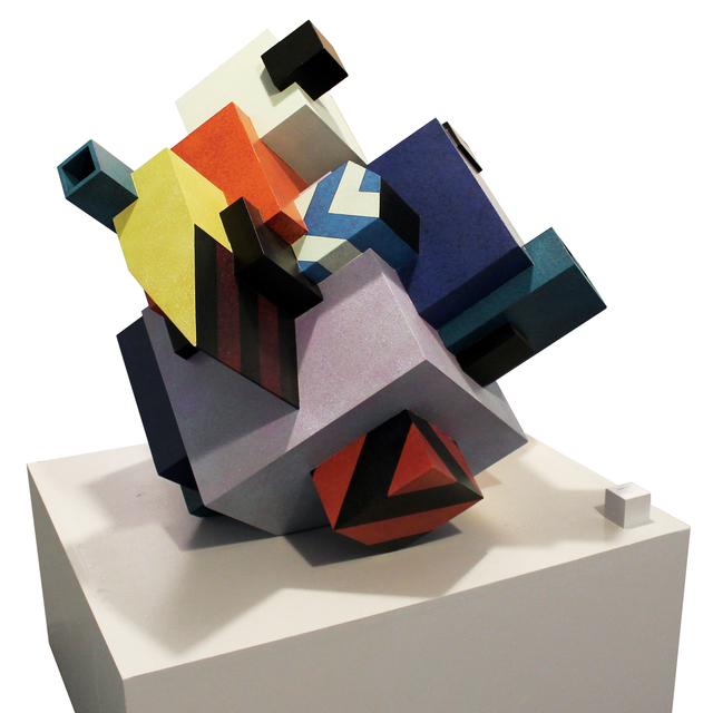 , 'Urban Solid,' 2015, Burning Giraffe Art Gallery
