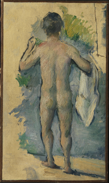 , 'Standing Bather Seen from Behind,' ca. 1879-82, Princeton University Art Museum