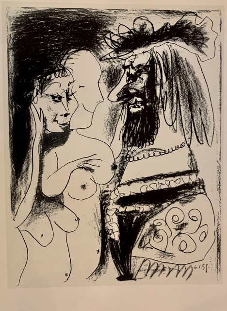 Pablo Picasso, 'The Old King', 1959, Acquisitions Of Fine Art