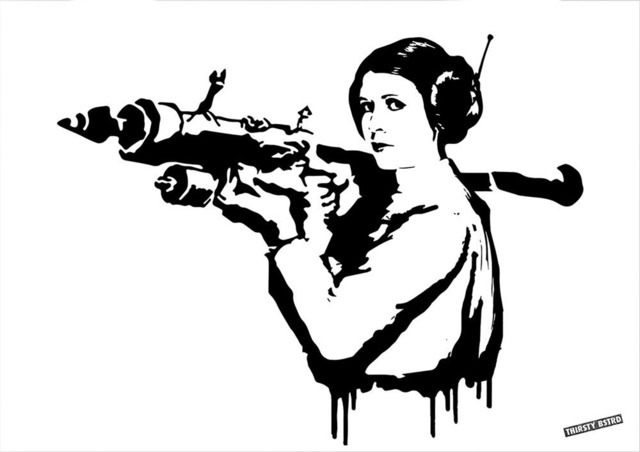 , 'Princess Leia Bazooka Rocket,' 2017, Reem Gallery