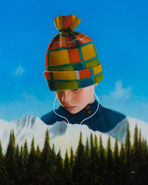 , 'iScape IV,' 2015, .M Contemporary